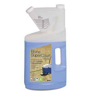 SSS Bona SuperCourt Cleaner Concentrate 1Gal SKU#SSSWM700018184, SSS Bona SuperCourt Cleaner Concentrate 1Gal SKU#SSSWM700018184