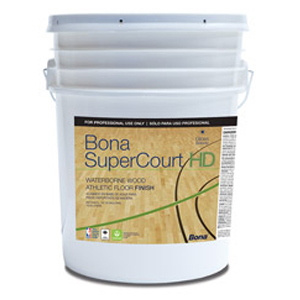 SSS Bona SuperCourt HD Wood Floor Finish 5Gal SKU#SSSWT762055008, SSS Bona SuperCourt HD Wood Floor Finish 5Gal SKU#SSSWT762055008