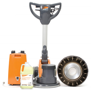 TASKI 17in Dry Foam Carpet Care System SKU#TASKI-D5593968, TASKI 17in Dry Foam Carpet Care System SKU#TASKI-D5593968
