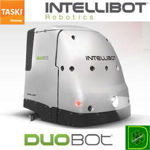 TASKI Intellibot DuoBot Robotic Sweeper Scrubber Education SKU#TASKI-RS1000c-e, DUOBOT 1850 RS1000c-e, TASKI Intellibot DuoBot Robotic Sweeper Scrubber Education SKU#TASKI-RS1000c-e, DUOBOT 1850 RS1000c-e