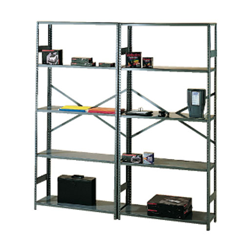 Tennsco 75 Inch High Commercial Metal Shelving SKU#TNS109694, Tennsco 75 Inch High Commercial Metal Shelving SKU#TNS109694