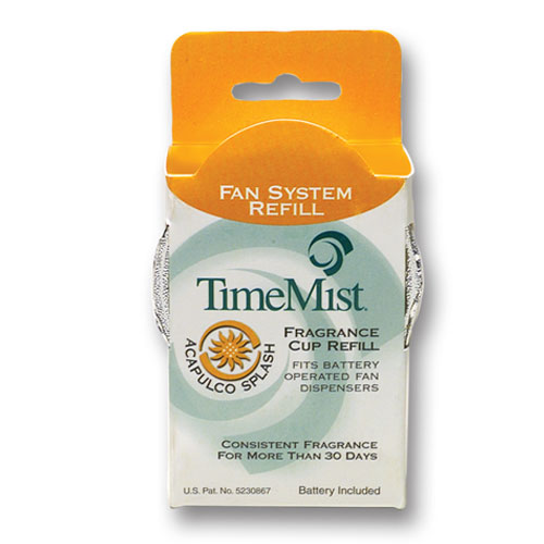 TimeMist Fragrance Refill for Continuous Fan Dispensers SKU#TMS30-4607TM, TimeMist Fragrance Refills for Continuous Fan Dispenser SKU#TMS30-4607TM