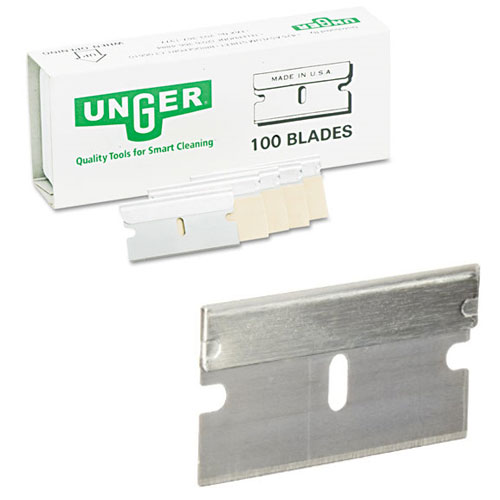 Number 9 Replacement Blades For Unger Stainless Steel Safety Scrapers SKU#UNGSRB10, Number 9 Replacement Blades For Unger Stainless Steel Safety Scraper SKU#UNGSRB10