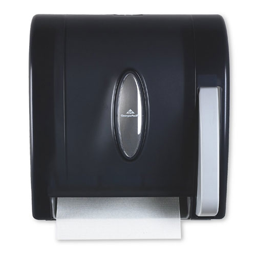 Vista Hygienic Push Paddle Roll Paper Towel Dispenser SKU#GPC54338, Georgia Pacific Vista Hygienic Push Paddle Roll Paper Towel Dispenser SKU#GPC54338