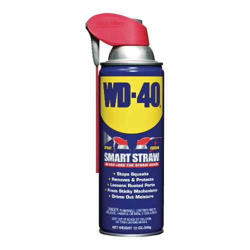 WD40 Lubricant w Smart Straw SKU#WDC10152, WD40 Lubricant with Smart Straw SKU#WDC10152