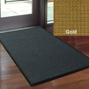 Andersen 72x192in Waterhog Classic Indoor-Outdoor Scraper-Wiper Entrance Mats GOLD SKU#A200-72x192GOLD, Andersen 72x192in Waterhog Classic Indoor-Outdoor Scraper-Wiper Entrance Mat GOLD SKU#A200-72x192GOLD