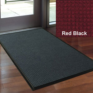 Andersen 18x27in Waterhog Classic Indoor-Outdoor Scraper-Wiper Entrance Mats RED-BLACK SKU#A200-18x27RED-BLACK, Andersen 18x27in Waterhog Classic Indoor-Outdoor Scraper-Wiper Entrance Mat RED-BLACK SKU#A200-18x27RED-BLACK