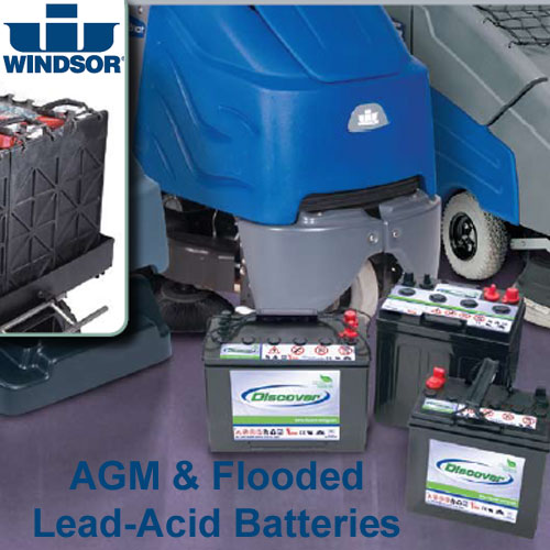 Windsor Chariot Ready To Go 3-234Ah AGM Batteries Complete Battery Exchange Kit SKU#WIN8.601-319.0, Windsor Chariot Ready To Go 3-234Ah AGM Batteries Complete Battery Exchange Kit SKU#WIN8.601-319.0