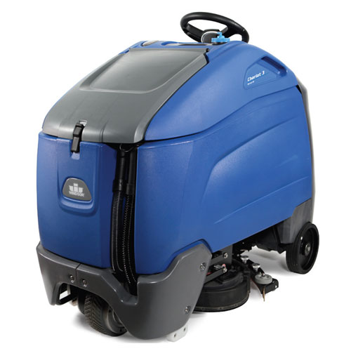 Windsor Chariot 3 iScrub 26 Stand-On Scrubbers 26in Path 36V SKU#WIN9.841-009.0, Windsor Chariot 3 iScrub 26 Stand-On Scrubber 26in Path 36V SKU#WIN9.841-009.0