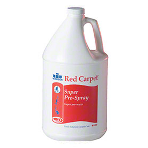 Windsor Carpet Extraction Products Red Carpet Super Pre-Spray SKU#WIN8.695-207.0, Windsor Carpet Extraction Products Red Carpet Super Pre-Spray SKU#WIN8.695-207.0