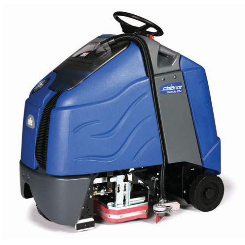 Windsor Chariot iScrub 24 Inch Stand-Up Automatic Scrubbers SKU#WIN9.840-691.0, Windsor Chariot iScrub 24in Stand-Up AutoScrubber SKU#WIN9.840-691.0